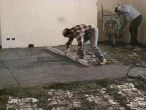 Recupero dei solai in legno: staggiatura del calcestruzzo